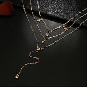 Bellanblue Jewelry - STAR LOVE Multilayer Necklace